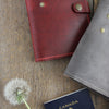 Passport Wallet: Grey