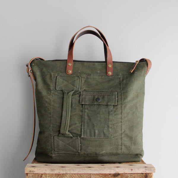 SOLD: Military Tote No. 2