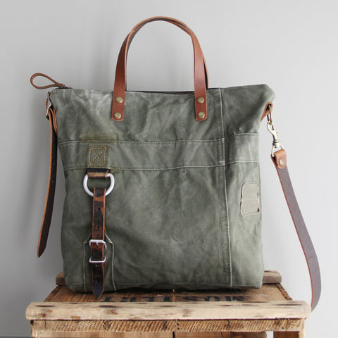SOLD: Military Tote No. 1