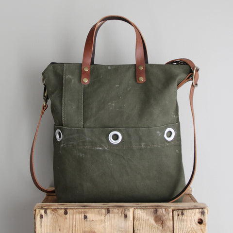 SOLD: Military Tote No. 3