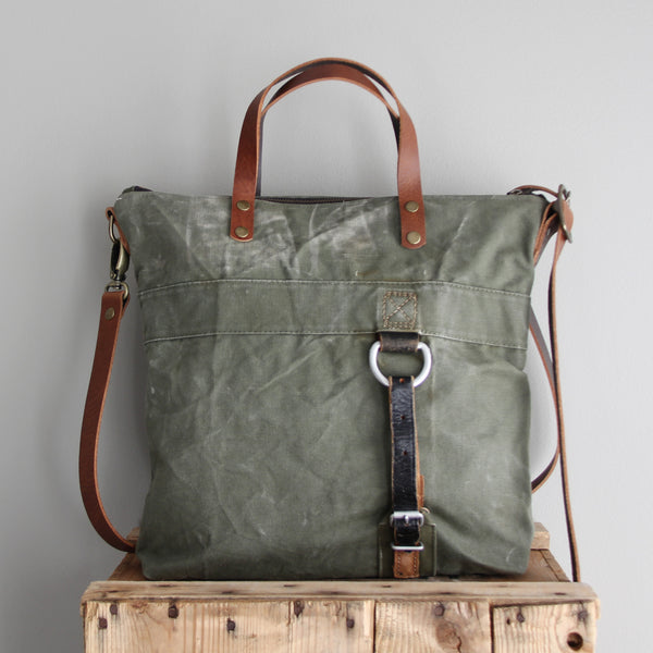 SOLD: Military Tote No. 5