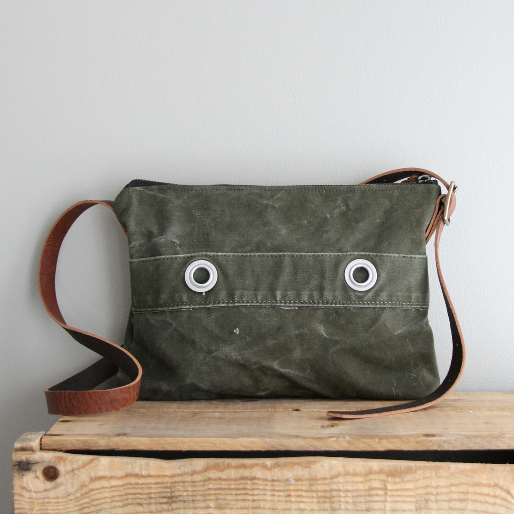 SOLD: Military Day Bag No. 2