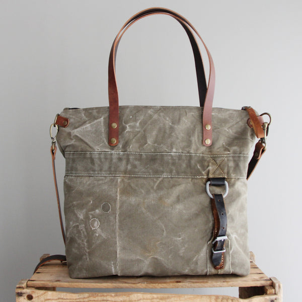 SOLD: Military Tote No. 12