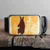 Belt Buckle: Bear
