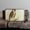 Belt Buckle: Owl
