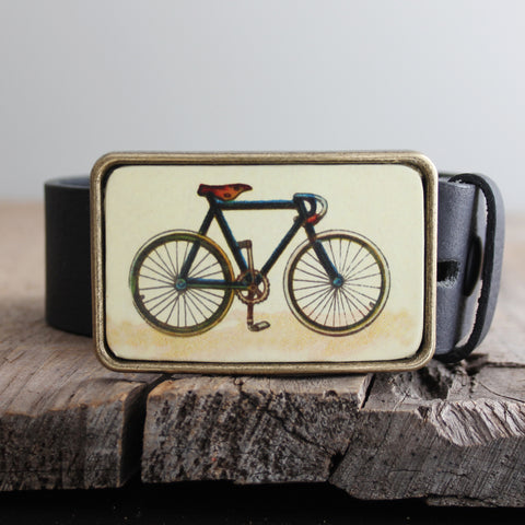 Belt Buckle: Bicycle