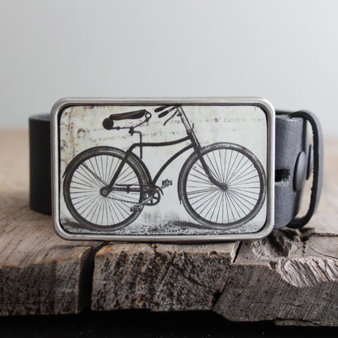 Belt Buckle: Bicycle II