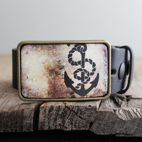 Belt Buckle: Anchor