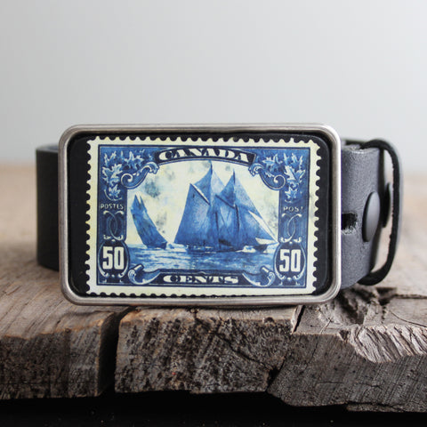 Belt Buckle: Bluenose