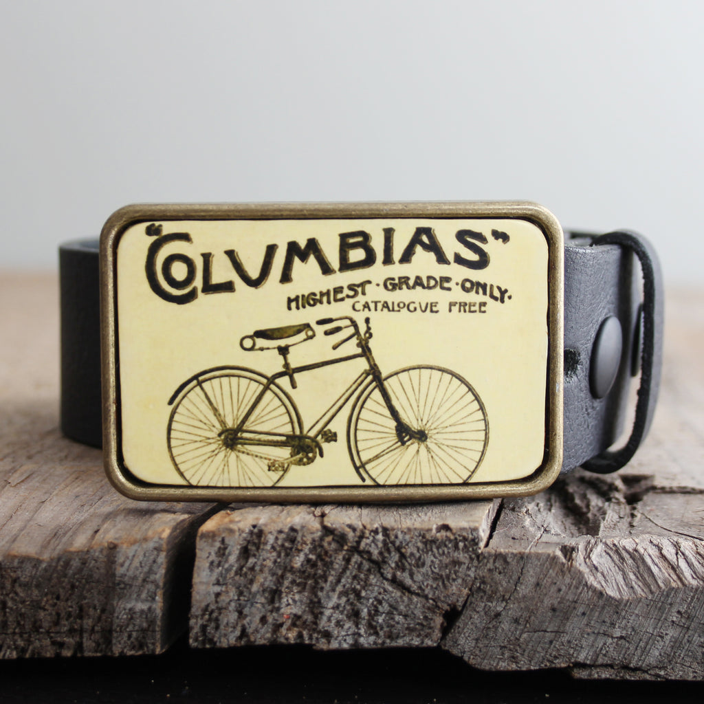 Belt Buckle: Bicycle Columbias