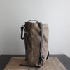 Convertible Backpack: Brown Waxed Canvas No. 50