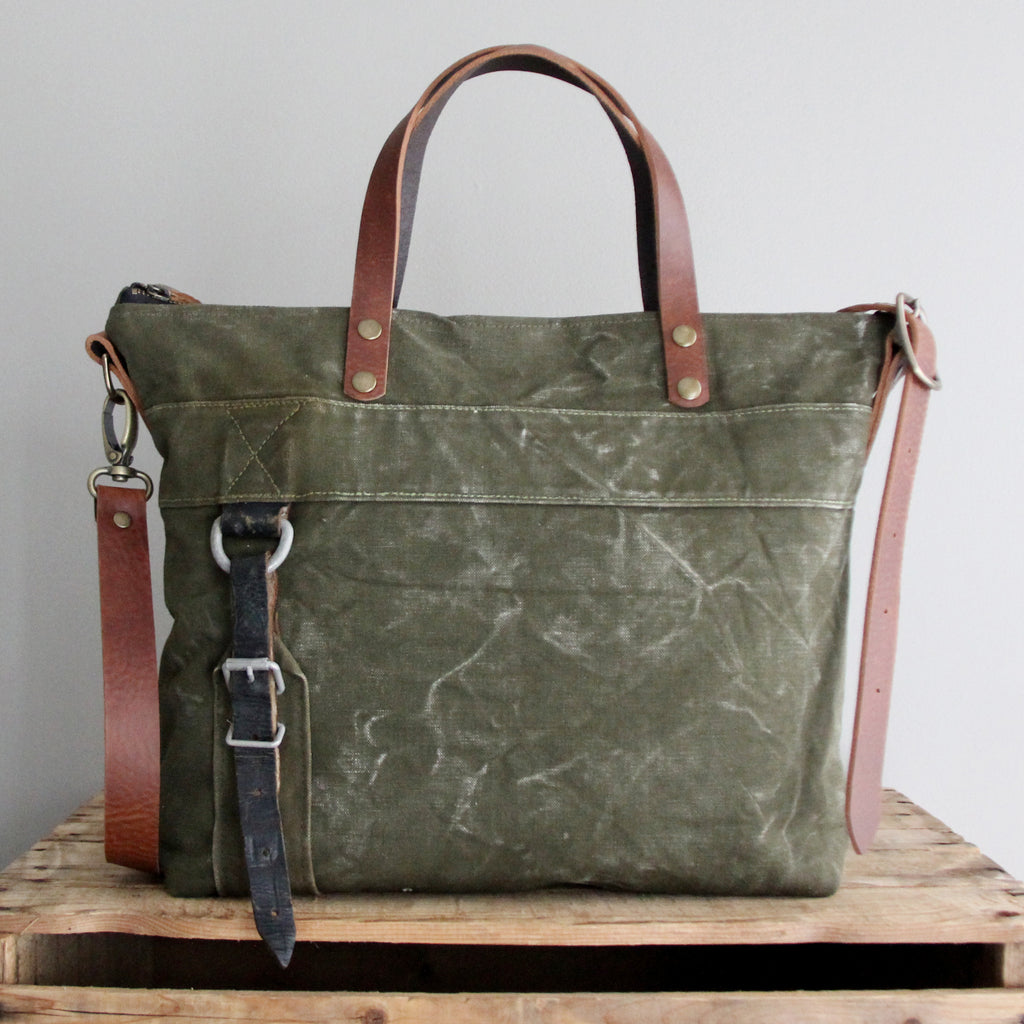 SOLD: Military Tote No. 14