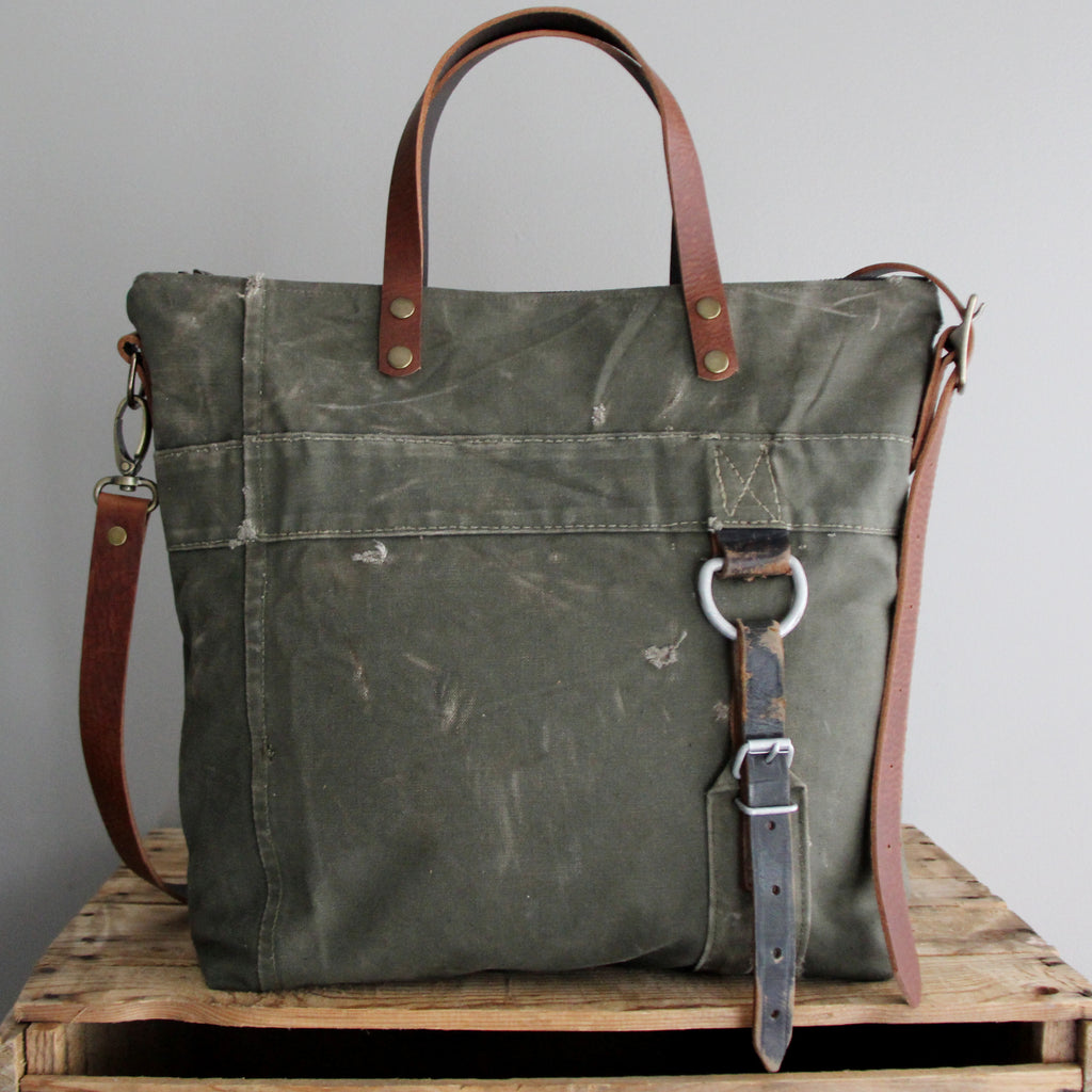 SOLD: Military Tote No. 17