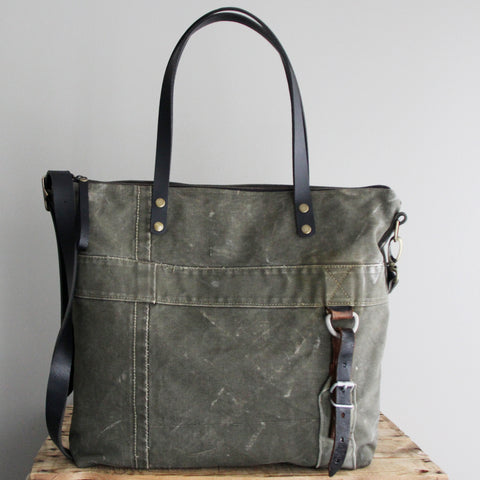 SOLD: Military Tote No. 18