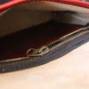 Luna Bag: Red & Brass or Silver