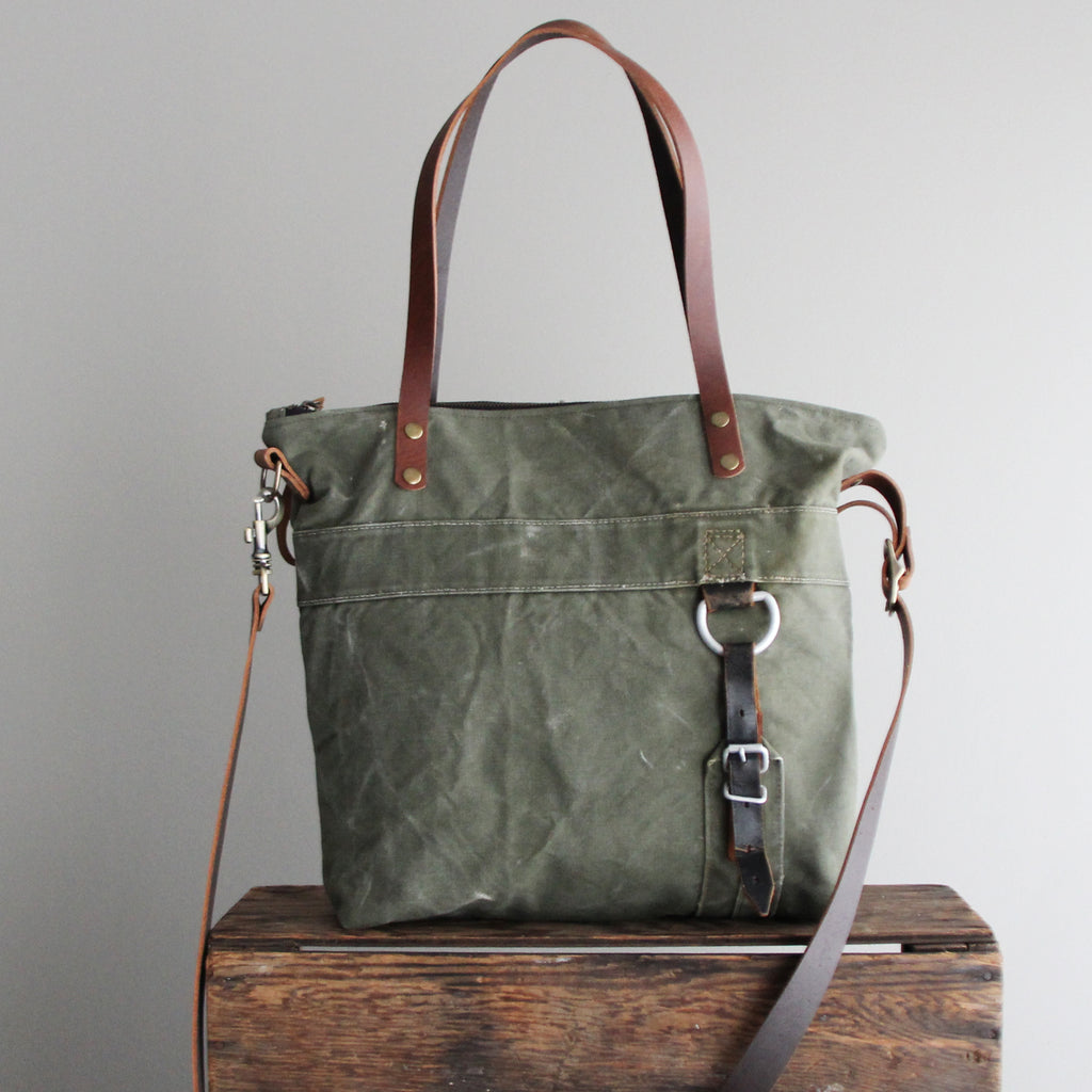 SOLD: Military Tote No. 21