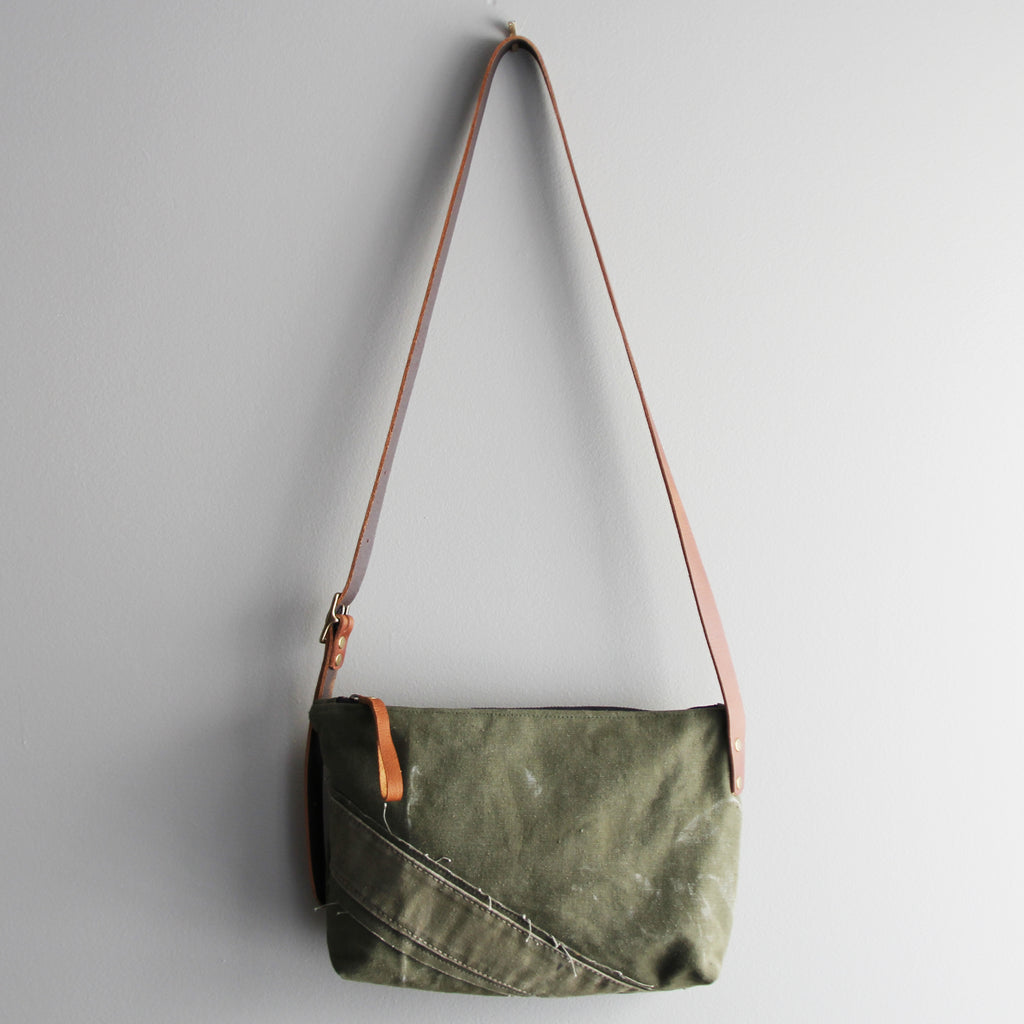 SOLD: Military Day Bag No. 8