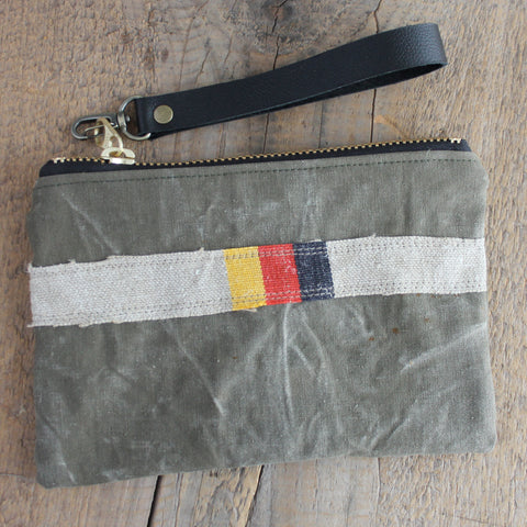 SOLD OUT:  Military Wristlet No. 25