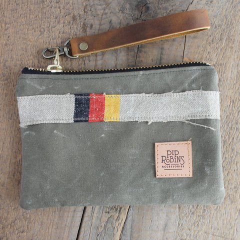 SOLD OUT:  Military Wristlet No. 24