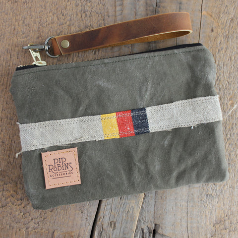 SOLD OUT: Military Wristlet No. 23