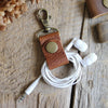 Pair of Cord Keepers: Cognac