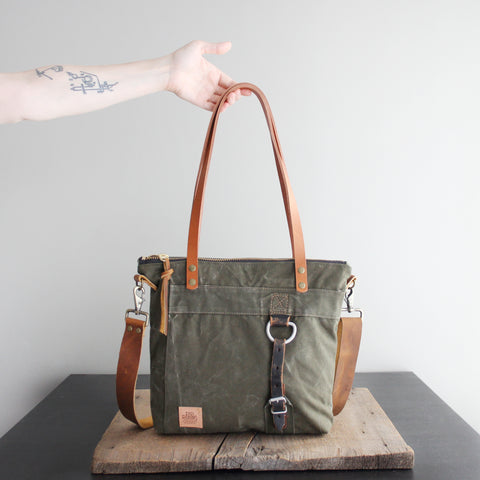 SOLD OUT: Military Tote No. 50