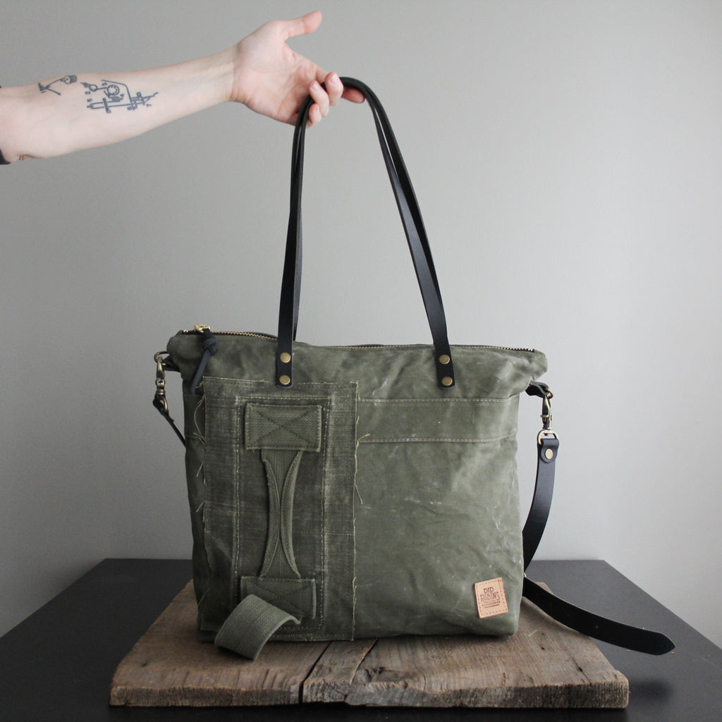 SOLD: Military Tote No. 37