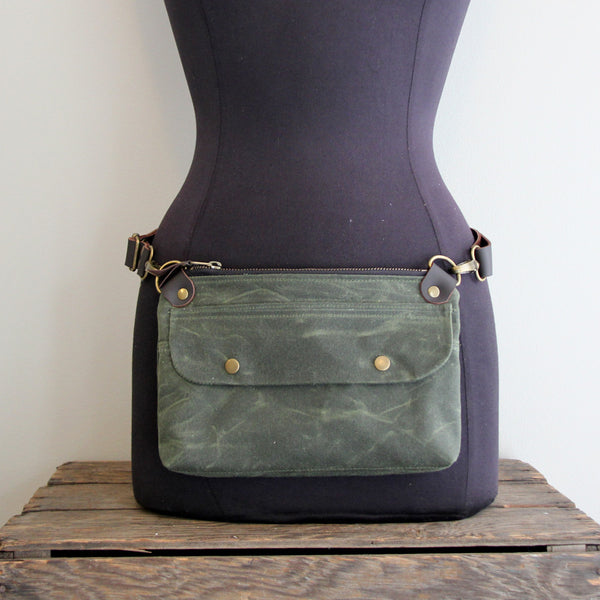 Fanny Pack: Olive Green