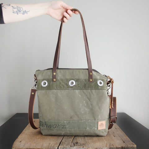 SOLD: Military Tote No. 33