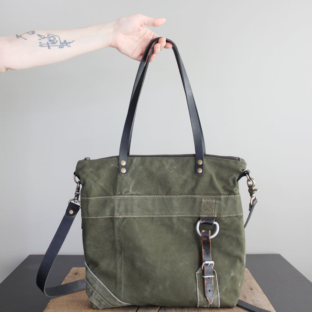 SOLD: Military Tote No. 42