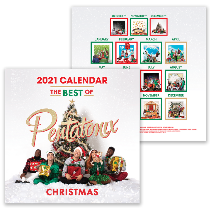 Best of PTX 2021 Calendar