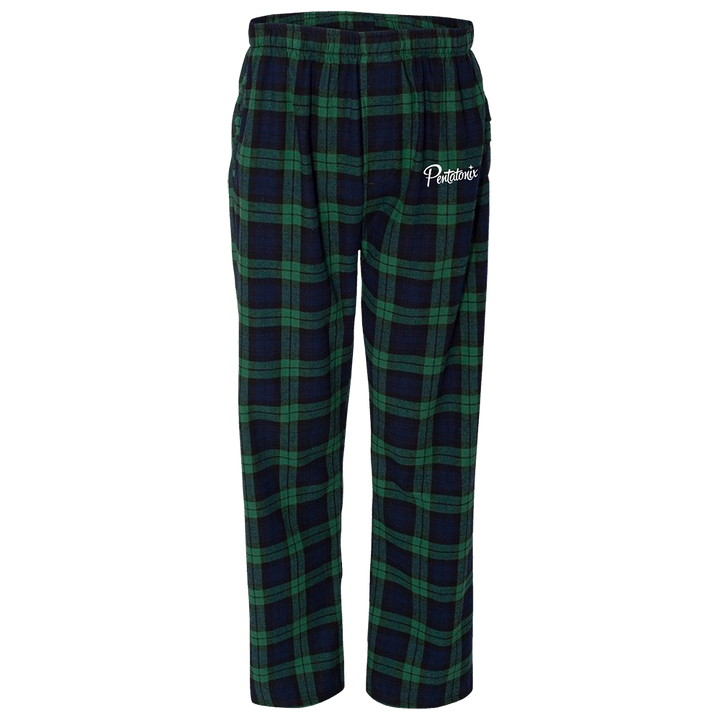 PTX Green Plaid PJs