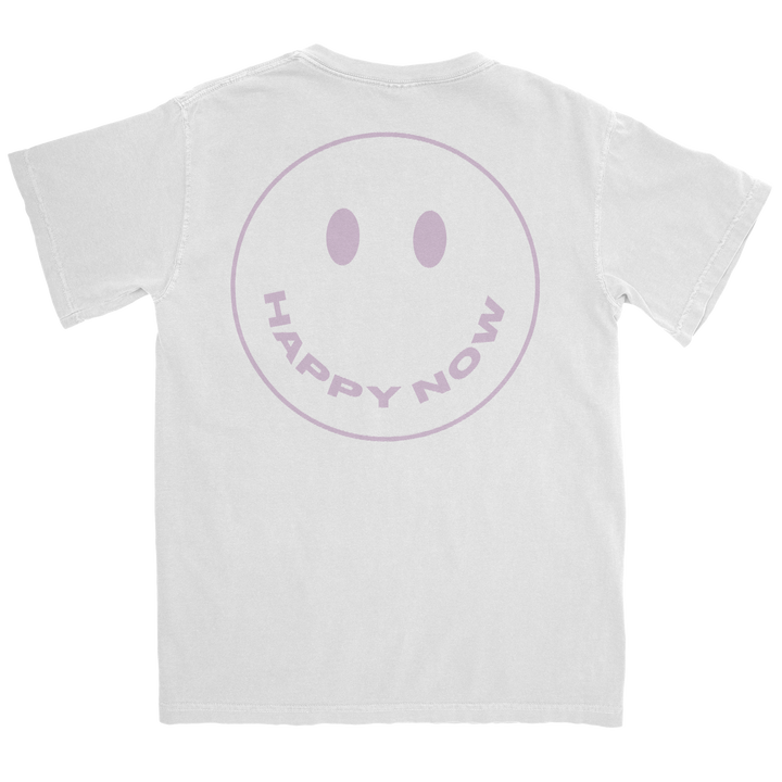 Happy Now Smiley Tee