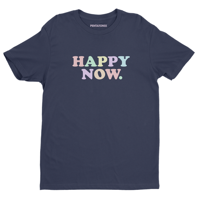 Multi-Color Happy Tee