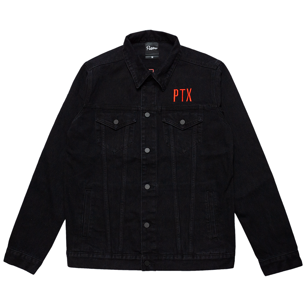 PTX Black Denim Jacket
