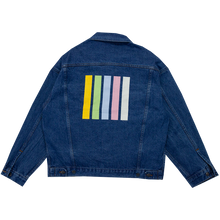 Rainbow Bar Denim Jacket