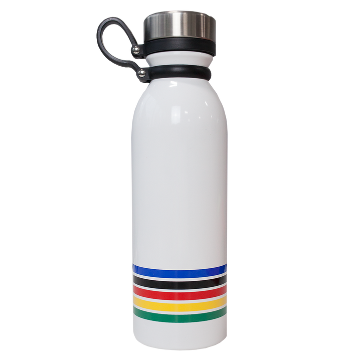 Striped Water Bottle