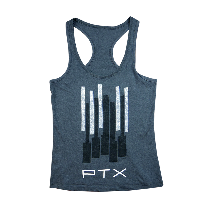 PTX Charcoal Keys Racerback