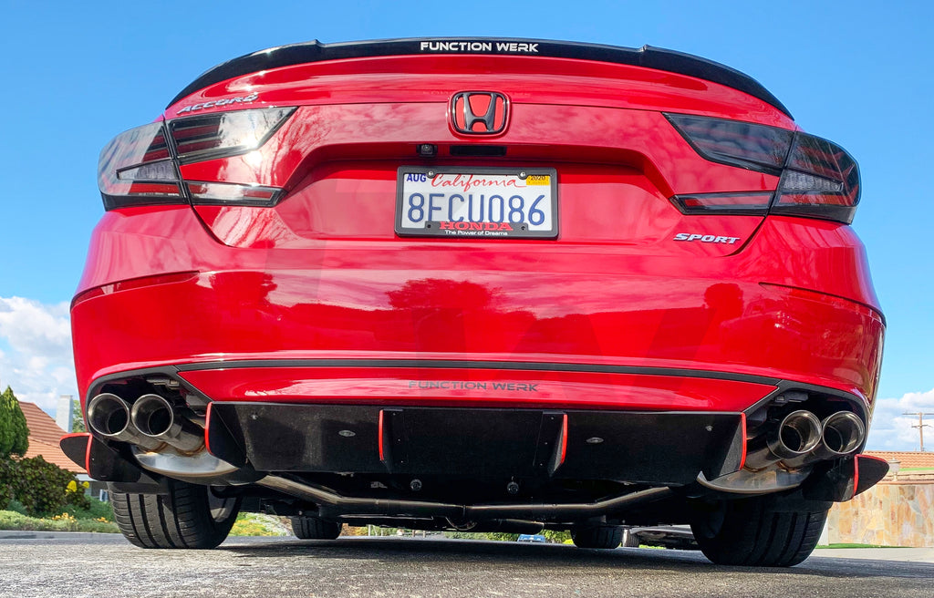Product Release: 2018+ Honda Accord Sport Exhaust