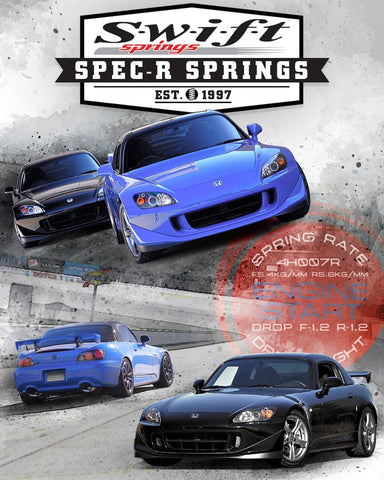 2000-2009 Honda S2000 - Swift Spec-R Sport Lowering Springs