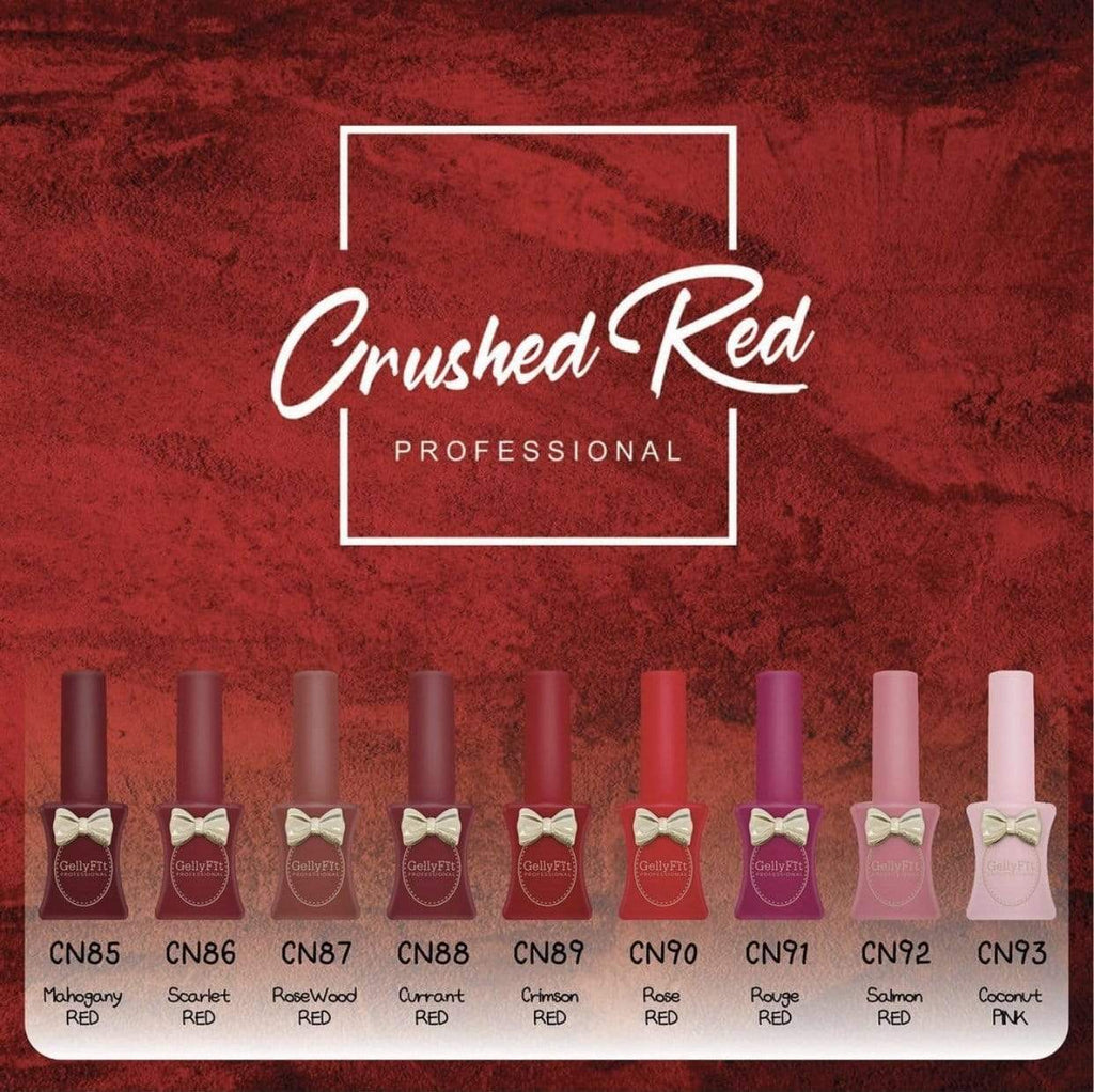Crushed Red Crayon Collection - Limited Edition