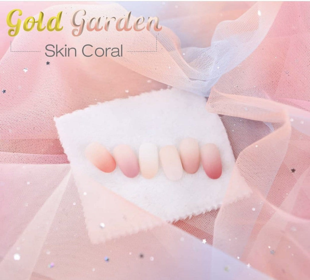 Gold Garden Skin Coral Collection