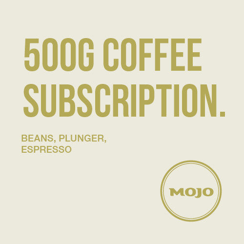 500g Coffee Subscription