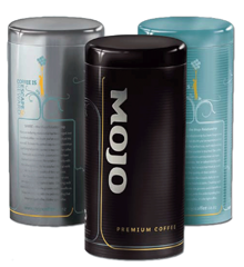 Mojo Coffee Tin