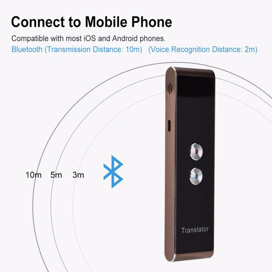 Magic Translator: 2019 - 40+ Language Portable Instant Voice Translator