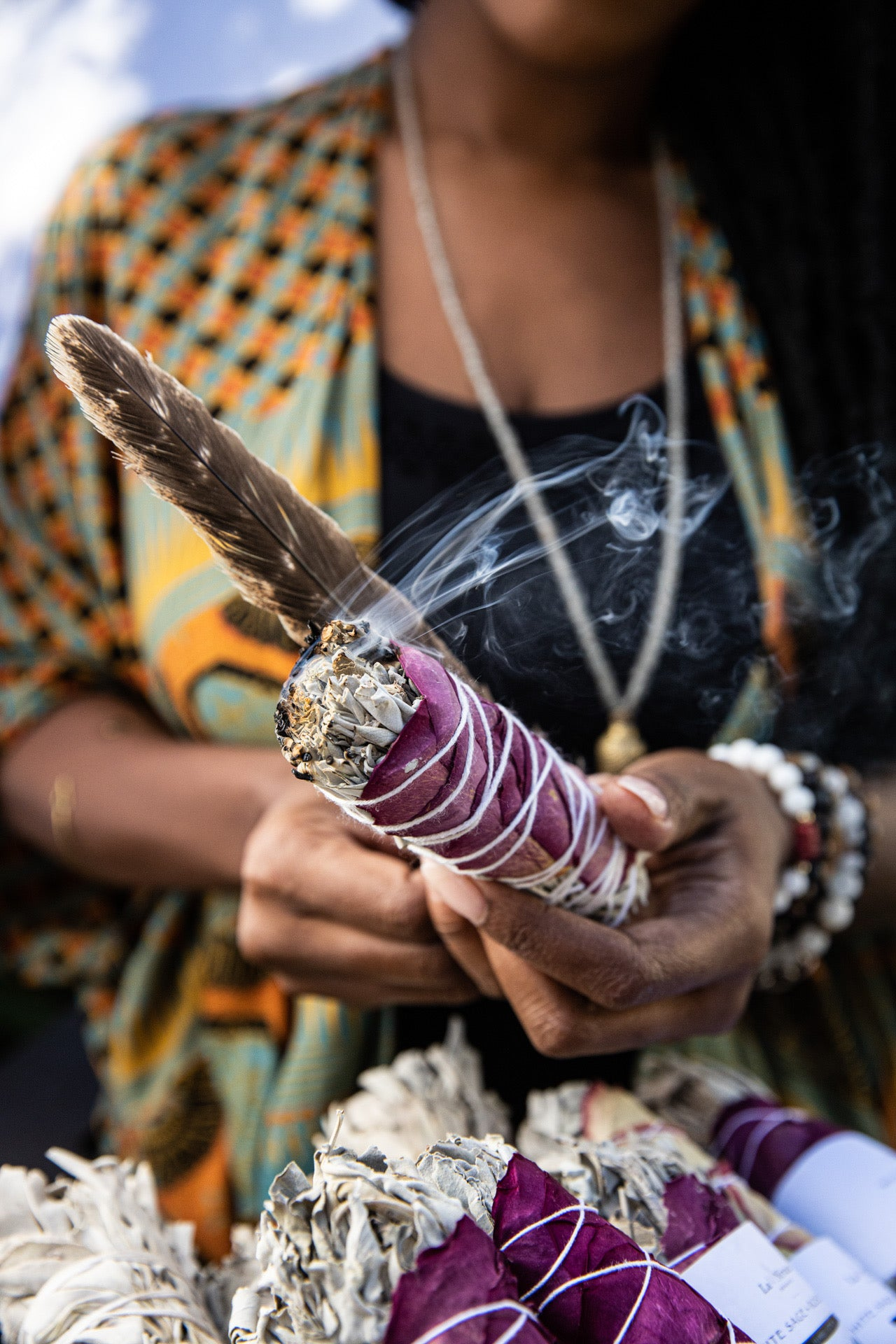 THE HISTORY AND SYMBOLISM OF SAGE AND SMUDGING
