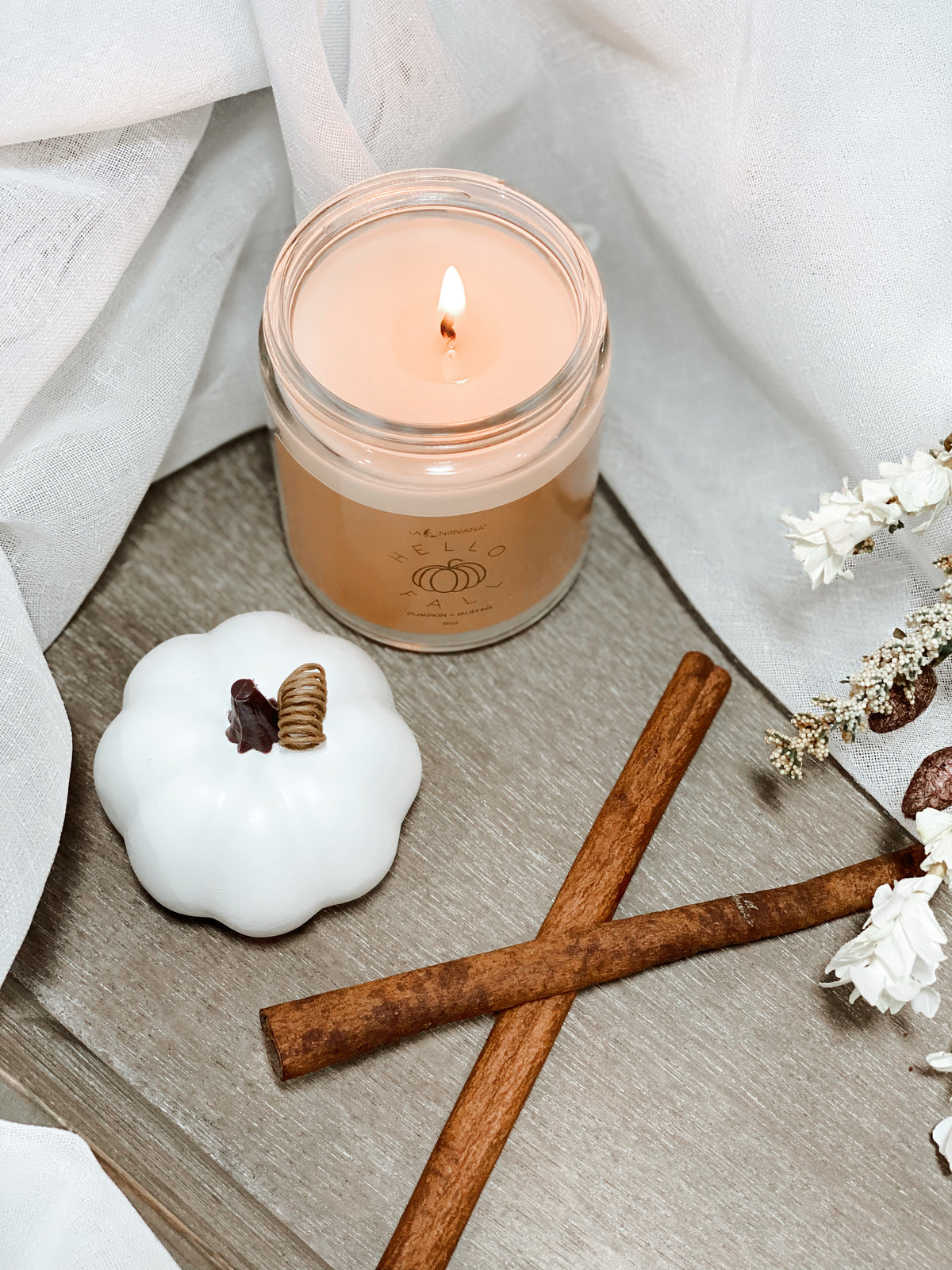 Hello Fall Candle || Fall Equinox