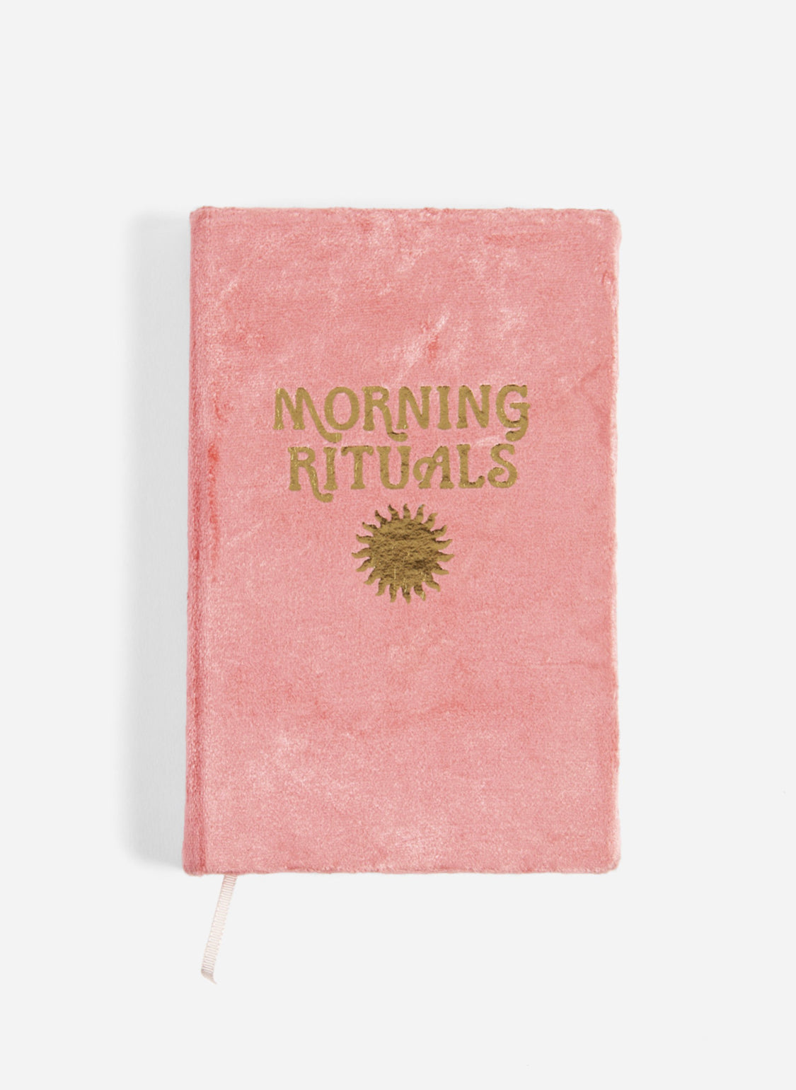 Morning Ritual Guided Journal || CORAL