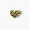 Pyrite Heart or Druzy