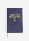Nighttime Reflections Guided Journal || NAVY